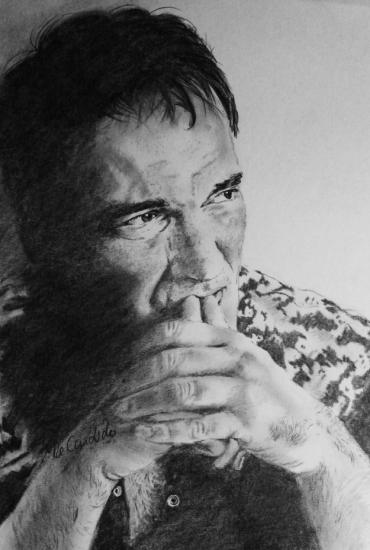 Quentin Tarantino by vividec